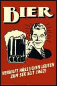 German Retro Spoof - Bier