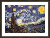 Van Gogh ingelijst