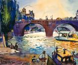 Evening by the Seine
