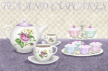 Tea and cupcakes - Linda Wood