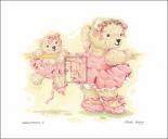 Ballerina Bears I