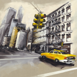 New York-Feu Rouge