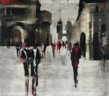 City scene II - Elena Radzetska