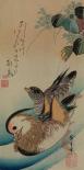 Mandarin ducks, 1840