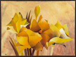 Colourful Flowers I - Gisela Funke