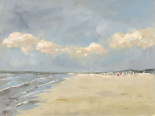 Beach in Holland - Nicole Laceur