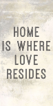 Home is Where Love Resides Panel A