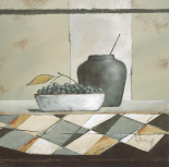 Still Life In Grey II - Franz Heigl
