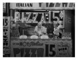 Hot Italian Pizza, NYC 1955