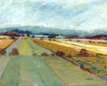 Pastel Landscape VIII