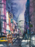 New York Aquarel II - Andreas Mattern