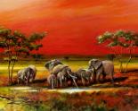 African Style - Elephants