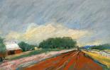 Pastel Landscape V