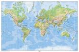 World Map - Physical International