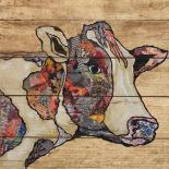 Farm Collage On Wood II