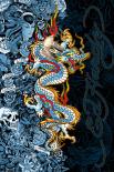 Ed Hardy - blue dragon