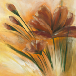 Fleur brune II - Isabelle Zacher-Finet