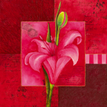 Carré de fleur V