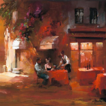 Dinner for two III - Willem Haenraets