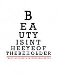 Beauty Eye Chart