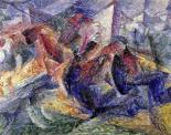 Horse, Horseman and Buildings