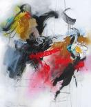 Woman between some birds - Jochem Bakker