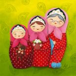 De mère en fille, série Petrouchka