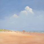 A Day on the Beach - Jan Groenhart