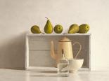 Five Pears on Box