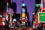 New York - Times square at night