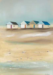 Beach cabins IV - Jean Jauneau