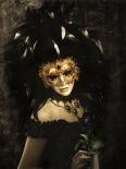 Masque I-leather dibond - Babette van den Berg
