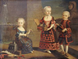 A Group Portrait of a Girl