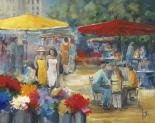 Summer market I - Jettie Roseboom