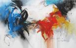 Abstract scene I - Hans Jochem Bakker