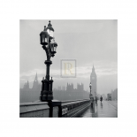 Westminster Bridge and Houses of Parliament, 1962