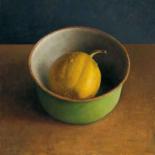Green bowl I - Jos van Riswick