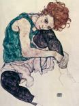 Donna Seduta, 1917