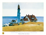 Lighthouse and Buildings