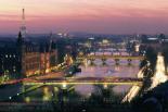Paris view colour