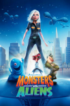 Monsters vs. Aliens - one sheet