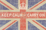 Keep Calm Flag - Ben James