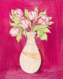 Les Fleurs Rose I