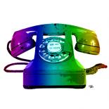 Rainbow Phone