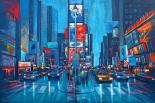 Times Square Blue