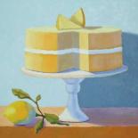 Double Layer Lemon Cake