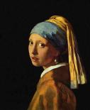 Meisje met parel - Jan  Vermeer