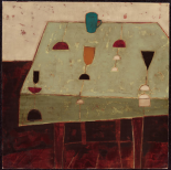 Table With Blue Cup - Jo Oakley