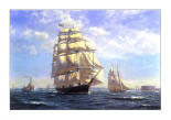 'Challenge' leaving New York in the 1850s