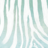 Soft Animal Prints Blue Zebra